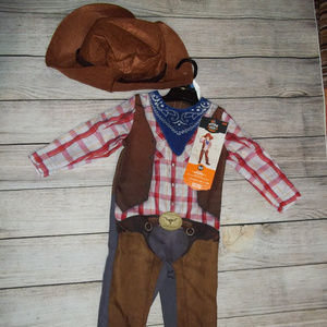 Toddler Cowboy Costume Halloween 18-24 Months